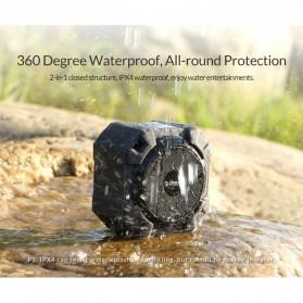 Orico Soundplus-A1 Bluetooth Speaker Waterproof Bluetooth 4.1 - Black - 5