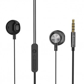 Orico Earphone Earbud HIFI Bass dengan Mic - RM3 - Black