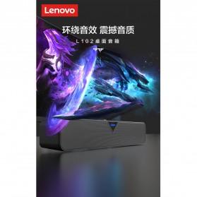 Lenovo Soundbar Portable Speaker Dynamic Sound 6W Bluetooth Version - L102 - Black - 7