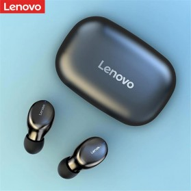 Lenovo Earphone TWS Bluetooth 5.0 Smart Touch with Charging Base - H301 - Black