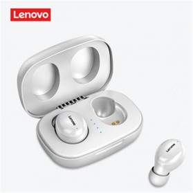 Lenovo Earphone TWS Bluetooth 5.0 Smart Touch with Charging Base - H301 - Black - 6