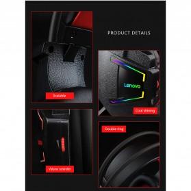 Lenovo Gaming Headphone Headset Super Bass with Mic - HU85 - Black - 10