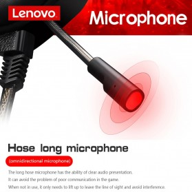 Lenovo Gaming Headphone Headset Super Bass with Mic - HU85 - Black - 3