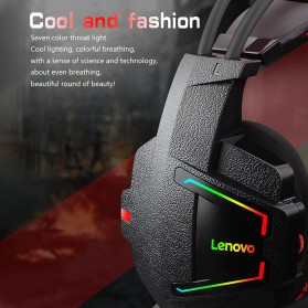 Lenovo Gaming Headphone Headset Super Bass with Mic - HU85 - Black - 5