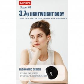 Lenovo TWS Earphone True Wireless Bluetooth 5.0 with Charging Dock - HT05 - Black - 9