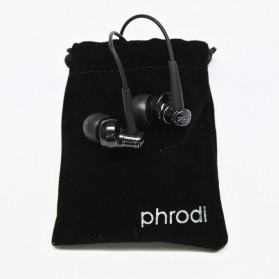 Phrodi 007 Earphone - POD-007 - Black - 2