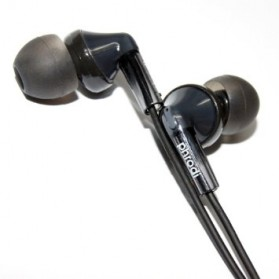 Phrodi T21 Earphone - POD-T21 - Black - 1