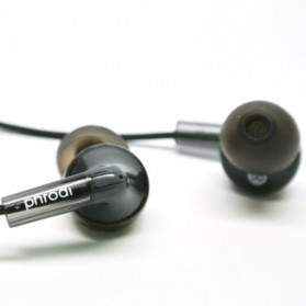 Phrodi T21 Earphone - POD-T21 - Black - 2