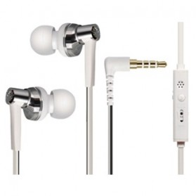 Phrodi 600 Earphone dengan Mic - POD-600 - White