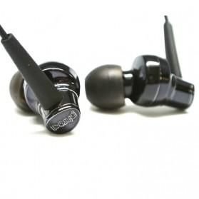 Phrodi 007P Earphone dengan Mic- POD-007P - Black - 2