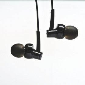 Phrodi 007P Earphone dengan Mic- POD-007P - Black - 3