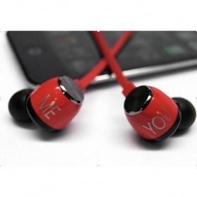 Phrodi 200 Earphone - POD-200 - Red