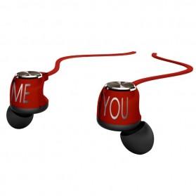 Phrodi 200 Earphone - POD-200 - Red - 2
