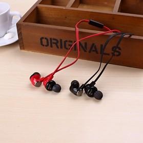 Phrodi M201 Earphone with Microphone - POD-M201 - Red - 3