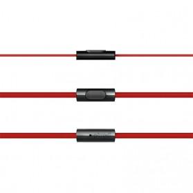 Phrodi M201 Earphone dengan Mic - POD-M201 - Red - 6