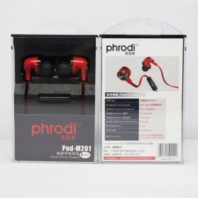 Phrodi M201 Earphone dengan Mic - POD-M201 - Red - 7