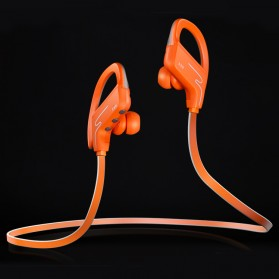Phrodi Sport Bluetooth Earphone with Microphone - SP-6 - Orange