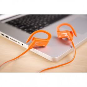 Phrodi Sport Bluetooth Earphone with Microphone - SP-6 - Orange - 2