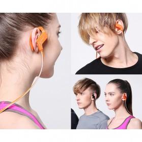 Phrodi Sport Bluetooth Earphone with Microphone - SP-6 - Orange - 3