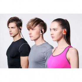 Phrodi Sport Bluetooth Earphone with Microphone - SP-6 - Orange - 7