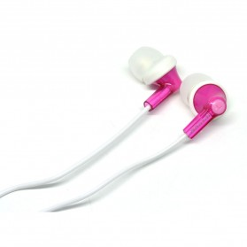 Phrodi 737 Earphone with Microphone - POD-737 - Pink