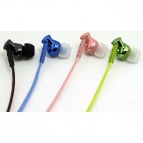 Phrodi 008 Deep Bass Earphone - POD-008 - Pink - 5
