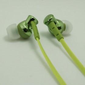 Phrodi 008 Deep Bass Earphone - POD-008 - Green