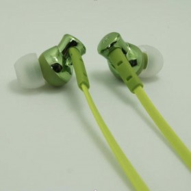 Phrodi 008 Deep Bass Earphone - POD-008 (NO BOX) - Green - 1