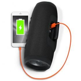 JDL Charge 3 Wireless Bluetooth Speaker Waterproof IPX7 - Black - 4