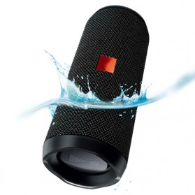 JDL Flip 4 Wireless Bluetooth Speaker Waterproof IPX7 - Black
