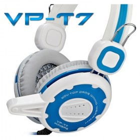 Kinbas HiFi Gaming Headset dengan Mic - VP-T7 - Blue - 2