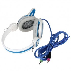Kinbas HiFi Gaming Headset dengan Mic - VP-T7 - Blue - 5