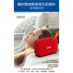 Kinbas Portable Bluetooth Speaker Outdoor Waterproof - A9 - Black - 13