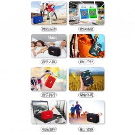 Kinbas Portable Bluetooth Speaker Outdoor Waterproof - A9 - Black - 14