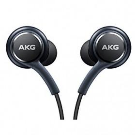 Earphone Headset Samsung Galaxy S8 Tune by AKG (ORIGINAL) - Black - 4