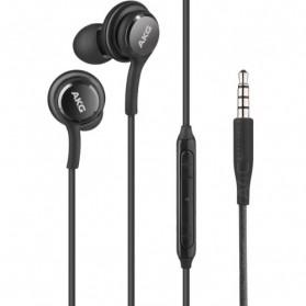 Earphone Headset Samsung Galaxy S10 Tune by AKG - EO-IG955 (ORIGINAL) - Black - 2