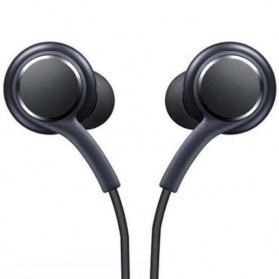 Earphone Headset Samsung Galaxy S10 Tune by AKG No Logo - EO-IG955 (Replika 1:1) - Black