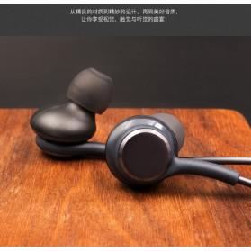 Earphone Headset Samsung Galaxy S10 Tune by AKG No Logo - EO-IG955 (Replika 1:1) - Black - 3