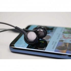 Earphone Headset Samsung Galaxy S10 Tune by AKG No Logo - EO-IG955 (Replika 1:1) - Black - 8