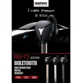 Remax Bluetooth Headset Handsfree- RB-T3 - Black - 8