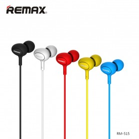 Remax Candy Earphone with Microphone - 515 - Black - 2