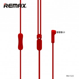 Remax Candy Earphone with Microphone - 515 - Black - 3