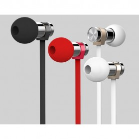 Remax Earphone with Microphone - RM-565i - Black - 2
