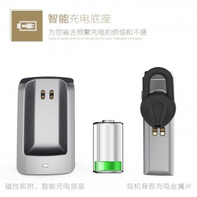 Remax Bluetooth 4.1 Car Speakerphone Wireless Headset - RB-T6C - Black - 3