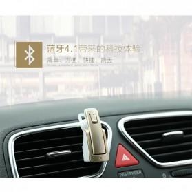 Remax Bluetooth 4.1 Car Speakerphone Wireless Headset - RB-T6C - Black - 5