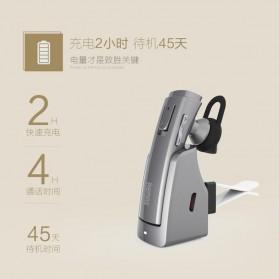 Remax Bluetooth 4.1 Car Speakerphone Wireless Headset - RB-T6C - Black - 6