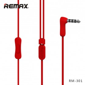 Remax Candy Earphone with Microphone - 301 - Black - 2