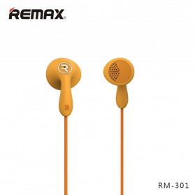 Remax Candy Earphone with Microphone - 301 - Black - 5
