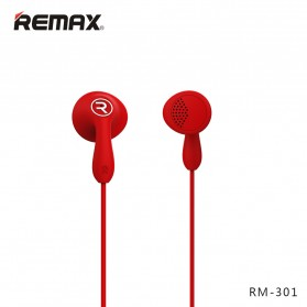 Remax Candy Earphone with Microphone - 301 - Black - 6