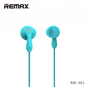 Remax Candy Earphone with Microphone - 301 - Black - 7